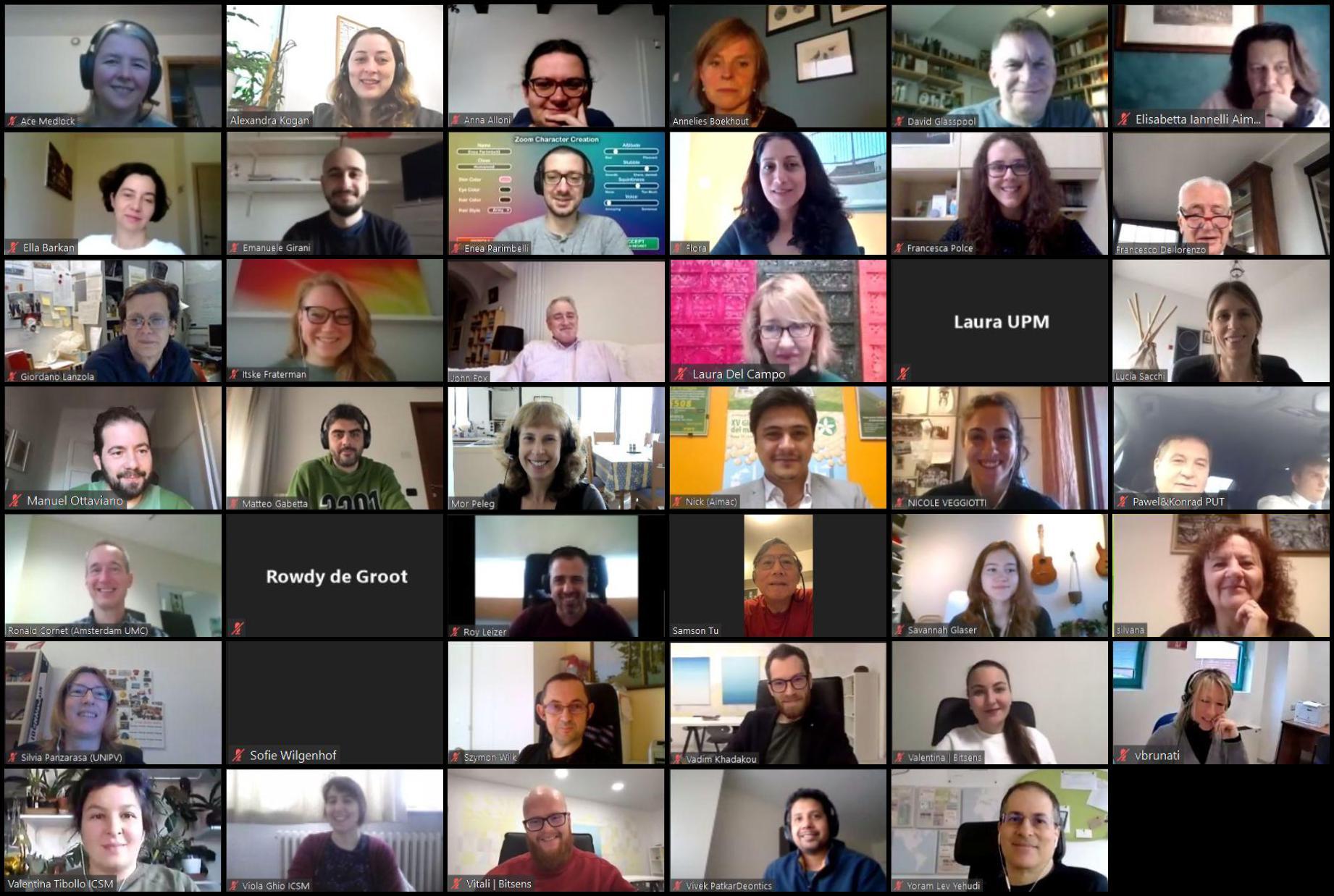 2nd Consortium Meeting (Virtual)